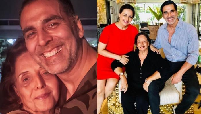 Akshay Mother dead